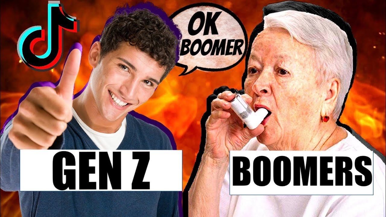 If Gen Z And Boomers Had A Rap Battle.. - YouTube