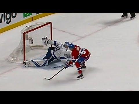 Vasilevskiy behind-the-back save steals Lightning vs. Canadiens shootout win