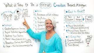 What it Takes to Be a Great Creative Project Manager - Project Management Training