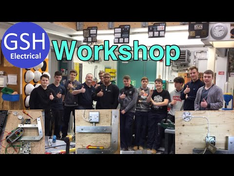 A Morning in the Electrical Workshop with Full Time Students (to Inspire Learners)