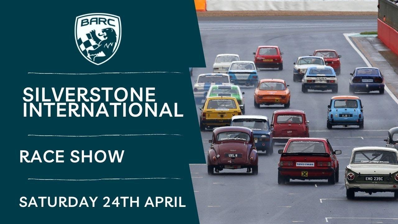 Download BARC LIVE   Silverstone   Saturday Race Show   April 24 2021