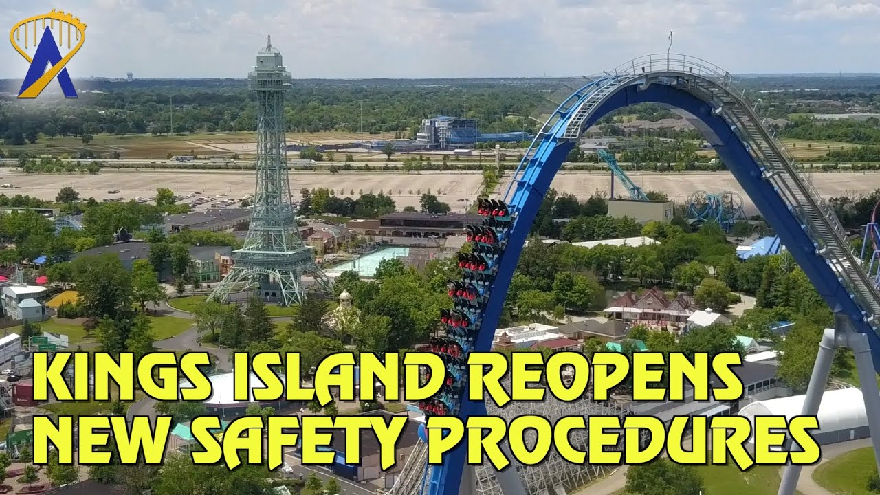 Kings Island Reopens with New Safety Procedures