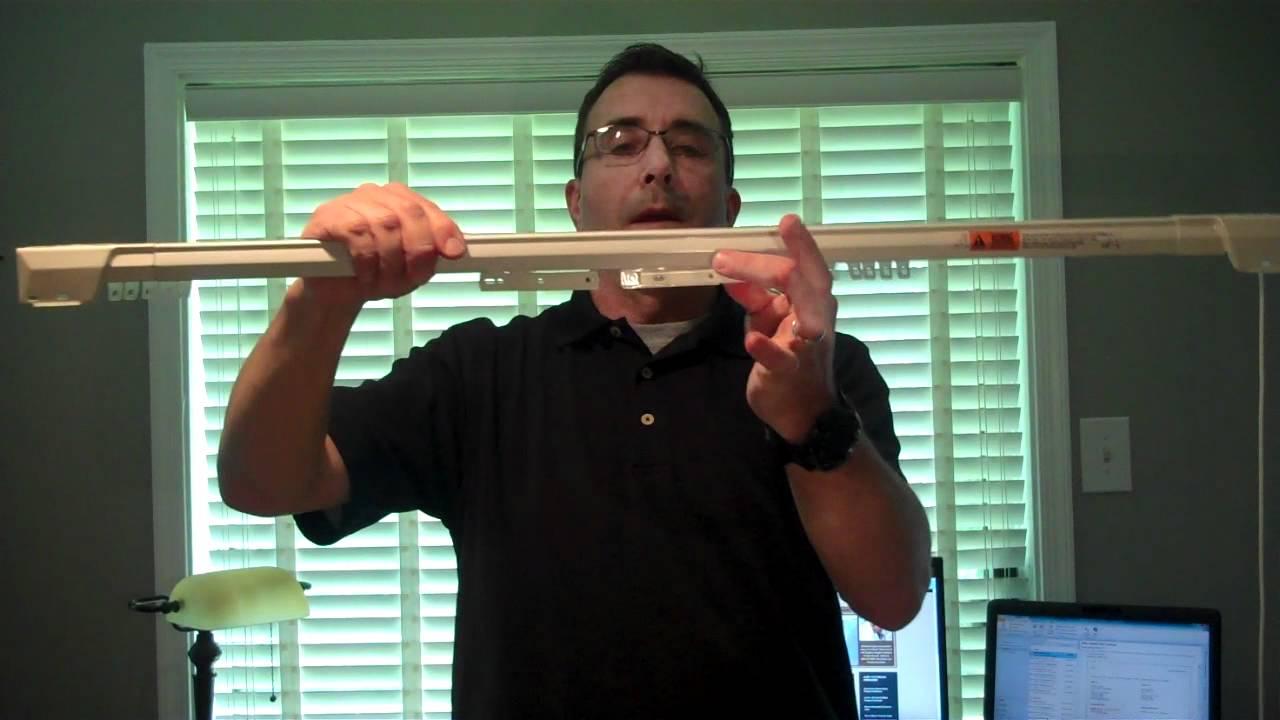 Kirsch Traverse Rod Converting From A