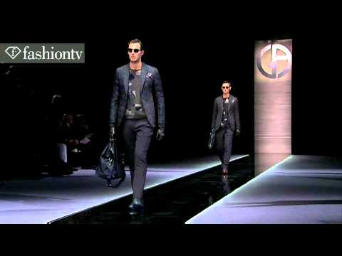 Giorgio Armani Men Fall/Winter 2013-14 | Milan Men's Fashion Week | FashionTV