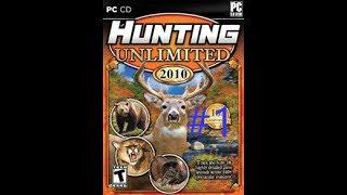 """Охотимся в игре Hunting Unlimited 2010 #1 """"Неудачная охота"""""""
