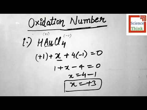 how to find the oxidation numbers of elements