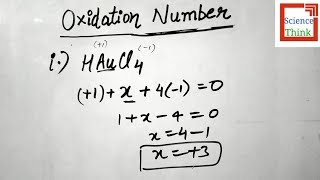 How to find Oxidation Numbers in Hindi | Chemistry by SCIENCE THINK