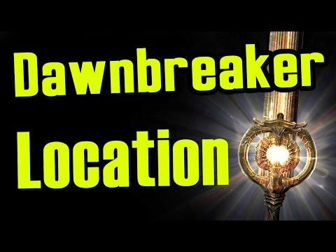 Skyrim: How To Get DawnBreaker The Best Unique Sword For Killing Undead (Location Tutorial)!
