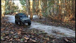Sometimes Slow is the way to go - Scale Trail Truck Crawl - Traxxas TRX4 Defender - Netcruzer RC