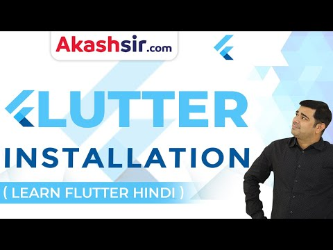 Flutter Installation Tutorial in Hindi thumbnail