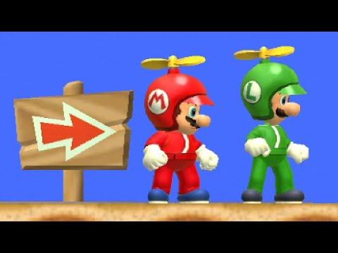 New Super Mario Bros. Wii Co-op Walkthrough - World 2 (All Star Coins)