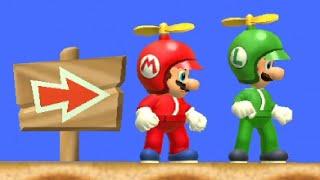 Скачать New Super Mario Bros Wii Co Op Walkthrough World 2 All Star Coins