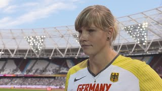 WCH 2017 London – Nadine Muller GER Discus Throw Group B