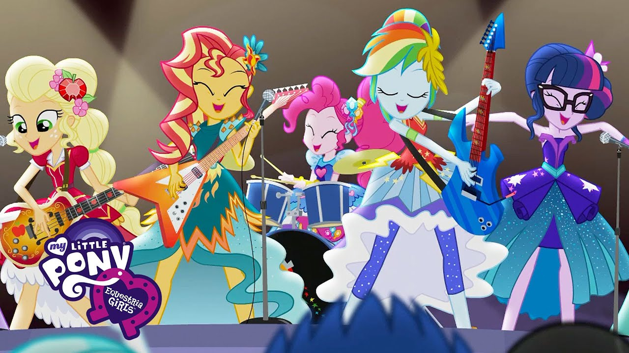 My Little Pony Equestria Girls Legend You Were Meant To Be Music Video Musicmonday Youtube