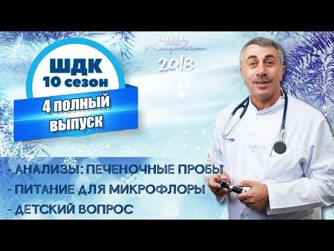 Школа доктора Комаровского - 10 сезон, 4 выпуск 2018 г. (полный выпуск)