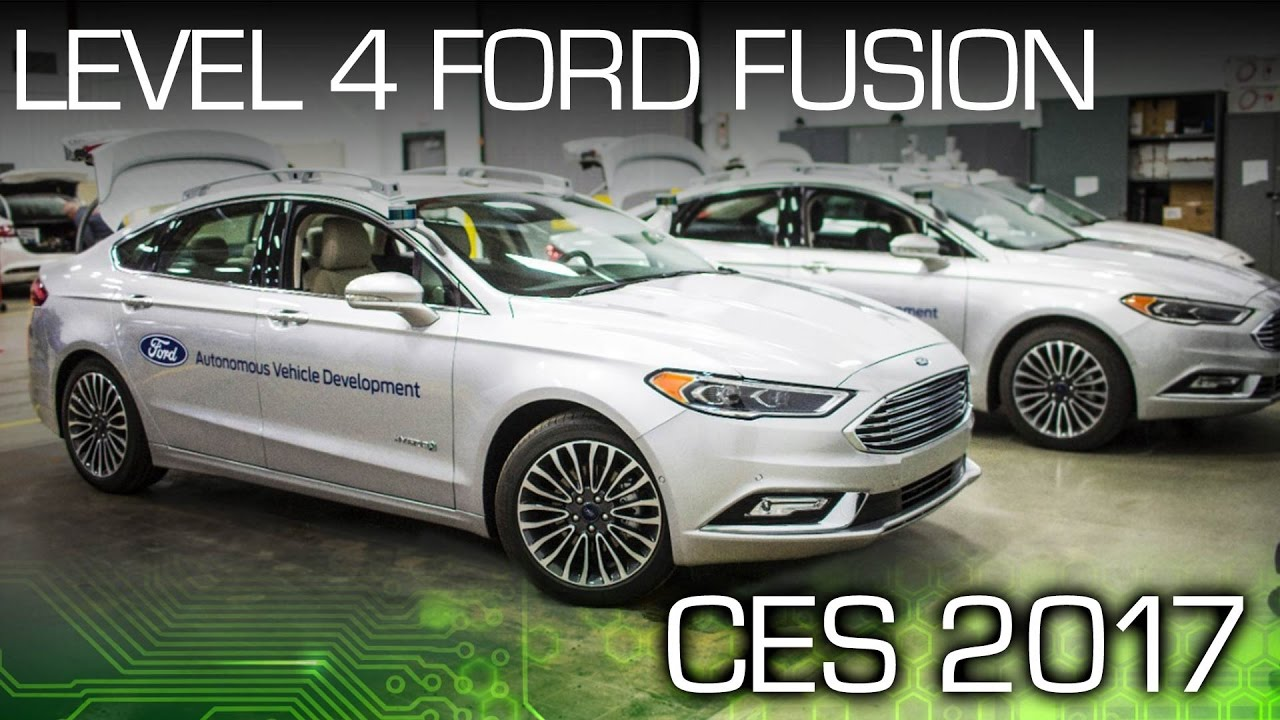 Ford Takes Another Step Closer To Autonomy - CES 2017