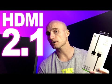 (Tested) HDMI 2.1 vs. HDMI 2.0 -- Belkin 4K120 / 8k60 Ultra High Speed Cable -- Test & Review