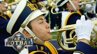 Notre Dame band's halftime show vs. Ball State I NBC Sports