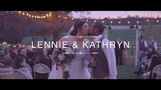 Lennie & Kathryn's Wedding Highlights