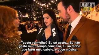 MTV EMA 2012 - Lana Del Rey no Red Carpet (Entrevista Legendada) Thumbnail