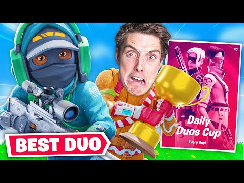 CASH CUP WITH LAZARBEAM (Best Duo in Fortnite)