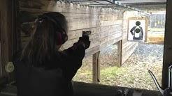 IN ACTION:  Kimber 1911 Custom Target II .45 ACP Handgun