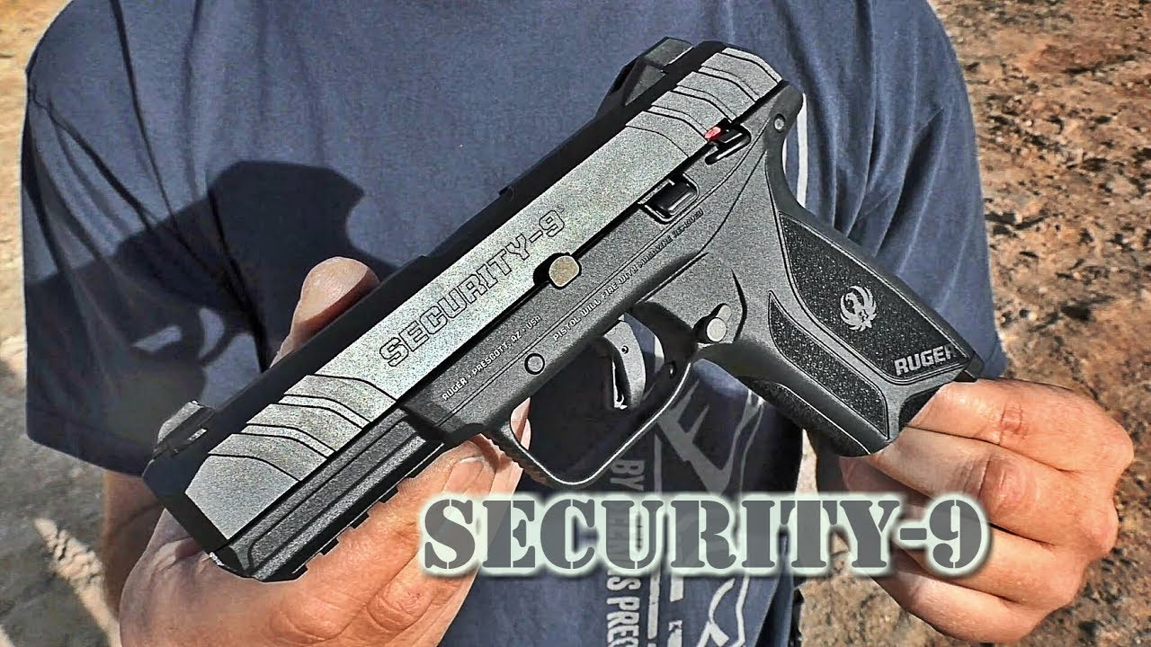 Gun Review: Ruger Security-9 Full Size 9mm Pistol - The