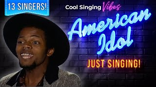 Auditions Day 6: New Orleans - 13 Singers: No Judging! American Idol XIV 2015 - Season 14