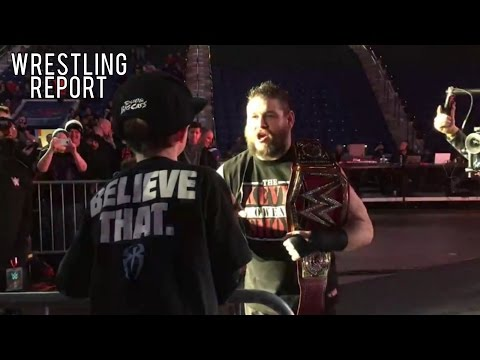 Kevin Owens Traumatizes Roman Reigns Fan, WWE Budget Cuts | Wrestling Report