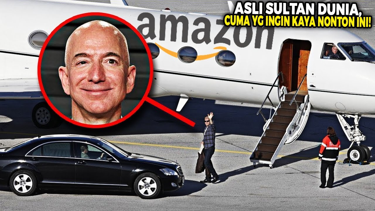 Berikut Kumpulan Kekayaan dan Koleksi Kendaraan Mewah Jeff Bezos yg Uangnya di Atas Trilliunan!