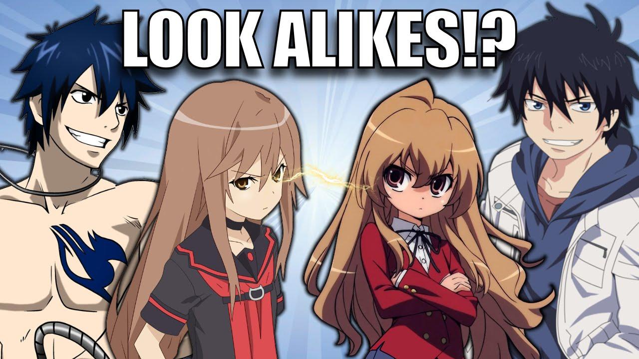 Anime Characters Look Alike : Anime character look alikes youtube