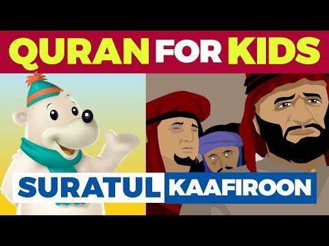 Quran Cartoon For Kids - Surah Al-Kaafiroon