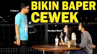 GOMBALIN CEWEK CANTIK SAMPAI NGAKAK STRES - BRAM DERMAWAN? LEWAT !! - PRANK GOMBAL