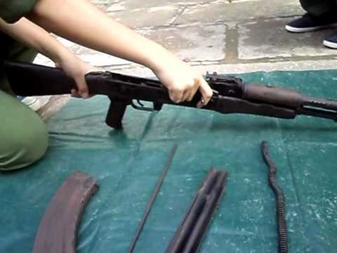 DHCNTT10 - Tháo lắp súng tiểu liên AK-47
