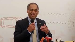 Nissan Digital press conference by Tony Thomas, CIO #NissanDigitalHub @ Trivandrum