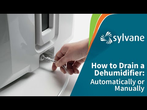 How to Drain a Dehumidifier Automatically | Sylvane - YouTube