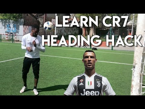 LEARN THE RONALDO HEADING SECRET - HOW TO HEAD THE BALL  WITH POWER AND ACCURACY