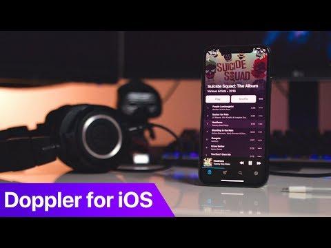 Doppler Music Player for iOS
