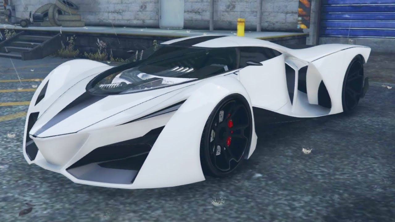 "GTA 5 Online 3 NEW SECRET CARS ""Prototipo, Pfister 811"