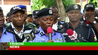 NIGERIA POLICE FORCE; LAGOS SATE POLICE POLICE PARADES SUPPECTS