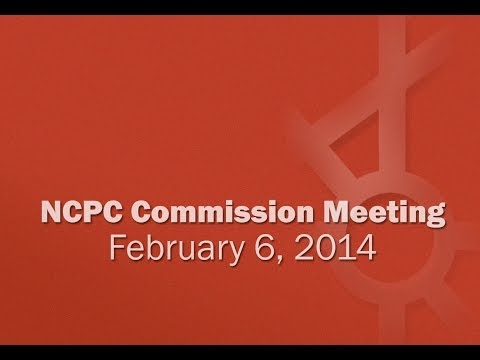 National Capital Planning Commission Meeting (USA) February 6, 2014