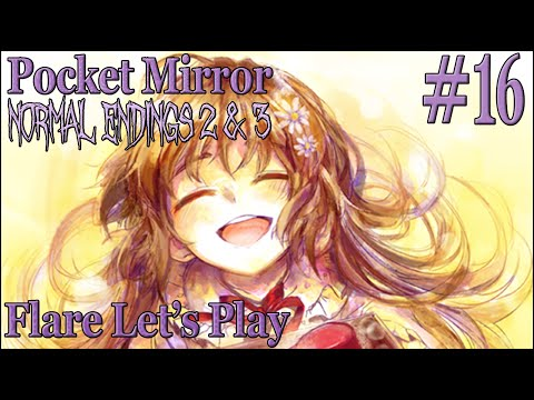 HER NAME! (Normal Ending 2 & 3) | Pocket Mirror (RPG Maker Horror) - Part 16 | Flare Let's Play
