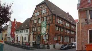 Wismar Alter Hafen und Altstadt