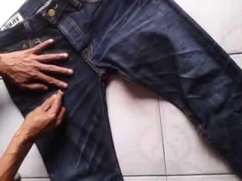 นักเลงยีนส์ : วิธีการ บล็อคหนวดกางเกงยีนส์ง่ายๆ