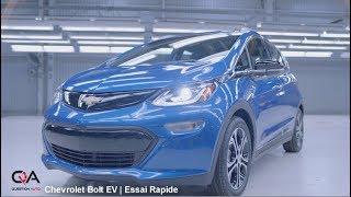 2017 Chevrolet BOLT EV | Essai Rapide
