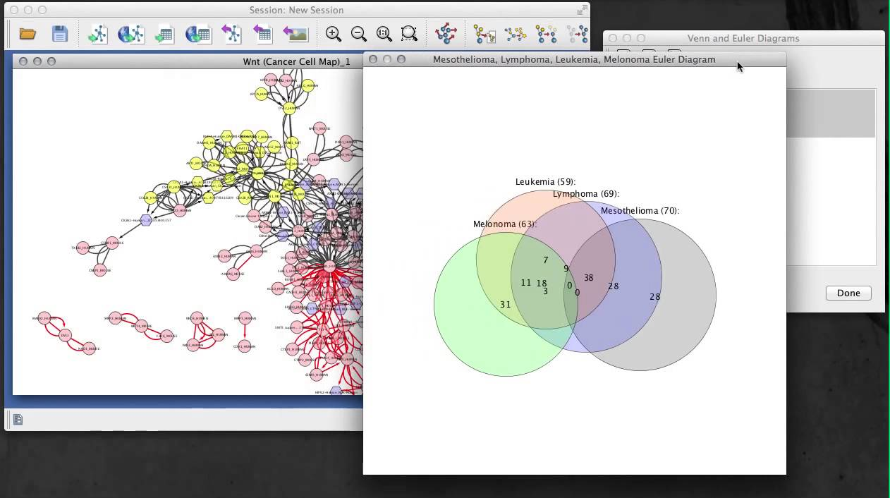 hight resolution of venn and euler diagrams app for cytoscape 3 x