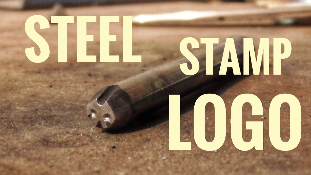 How To Make A Steel Stamp Logo In 10 Minutes