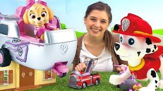 ToyClub шоу - Игрушки Щенячий патруль ищут Маршала