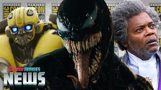 Is Venom the New Bane? (Into The Spider-Verse, Glass, Halloween, Bumblebee SDCC Breakdown)
