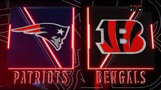 Madden 20 Simulation - New England Patriots vs Cincinnati Bengals - Simulation Nation